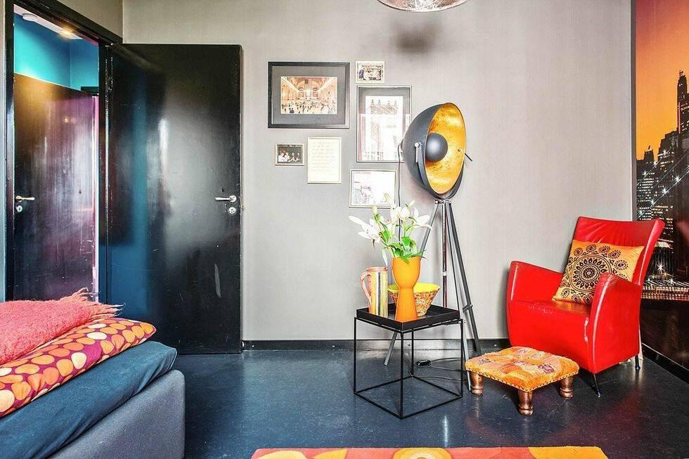 Den här lägenheten är det mest färgsprakande vi sett på länge