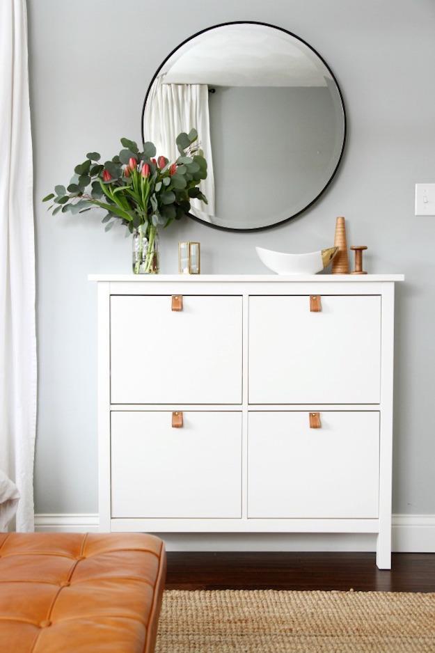 9 sätt att lyxa till dina Ikea-möbler med läderhandtag