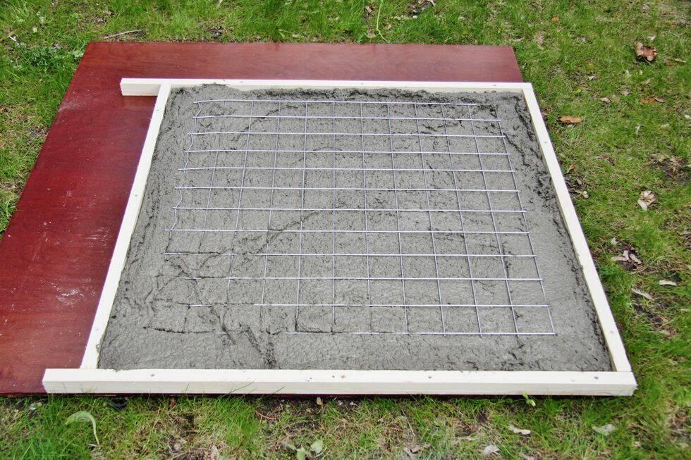 Så här gjuter du det perfekta utebordet i betong