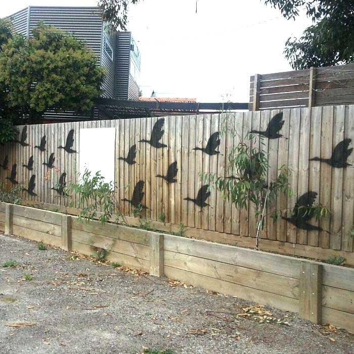 11 roliga sätt att piffa upp ditt staket på