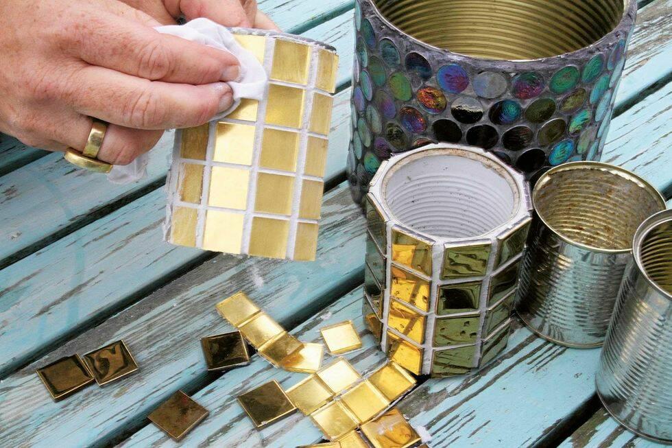 Gör det själv: Sätt guldkant på krukan