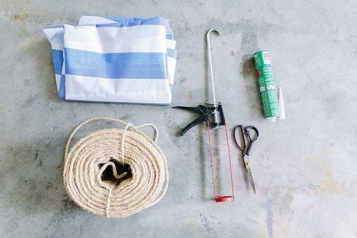 Gör det själv: Stilren rund matta i naturmaterial