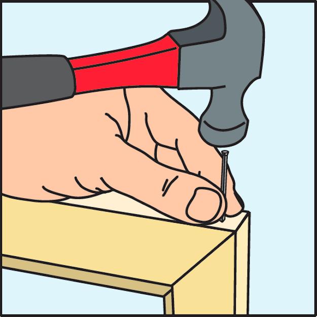 Så här bygger du en egen tavelram – steg för steg