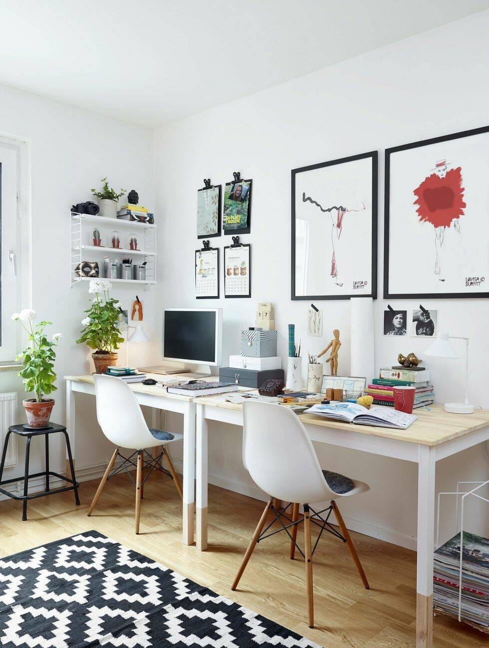 10 tips på hur du förvandlar det övergivna tonårsrummet till ett arbetsrum