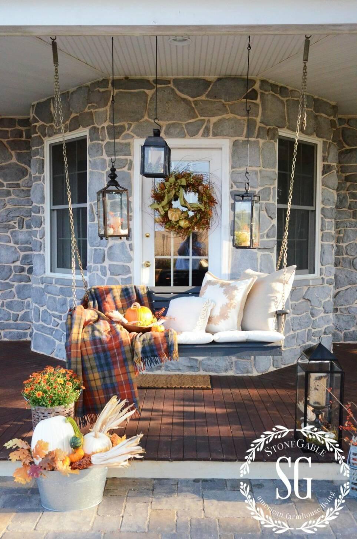 14 inspirerande tips på hur du stylar din veranda inför hösten
