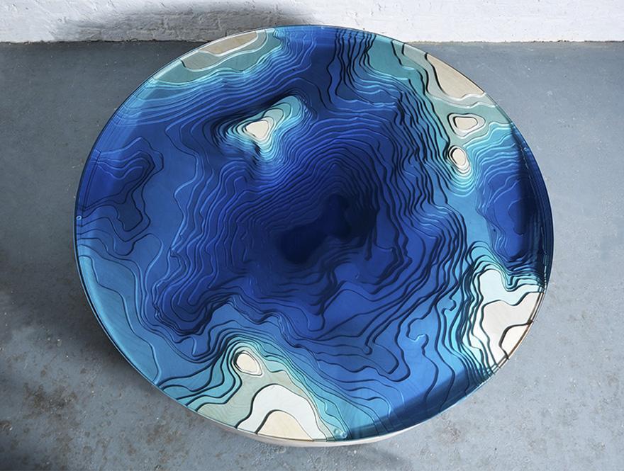 Här är det perfekta bordet för dig som verkligen älskar havet