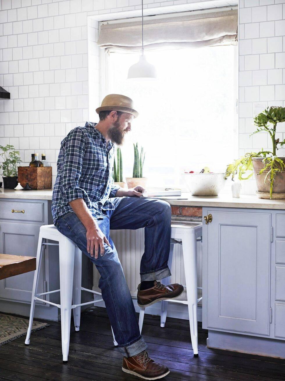 Veckans hem: En personlig mix av gammalt och nytt