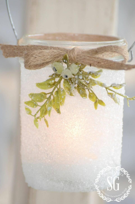 8 fina julpyssel av glasburkar du måste hinna med innan jul