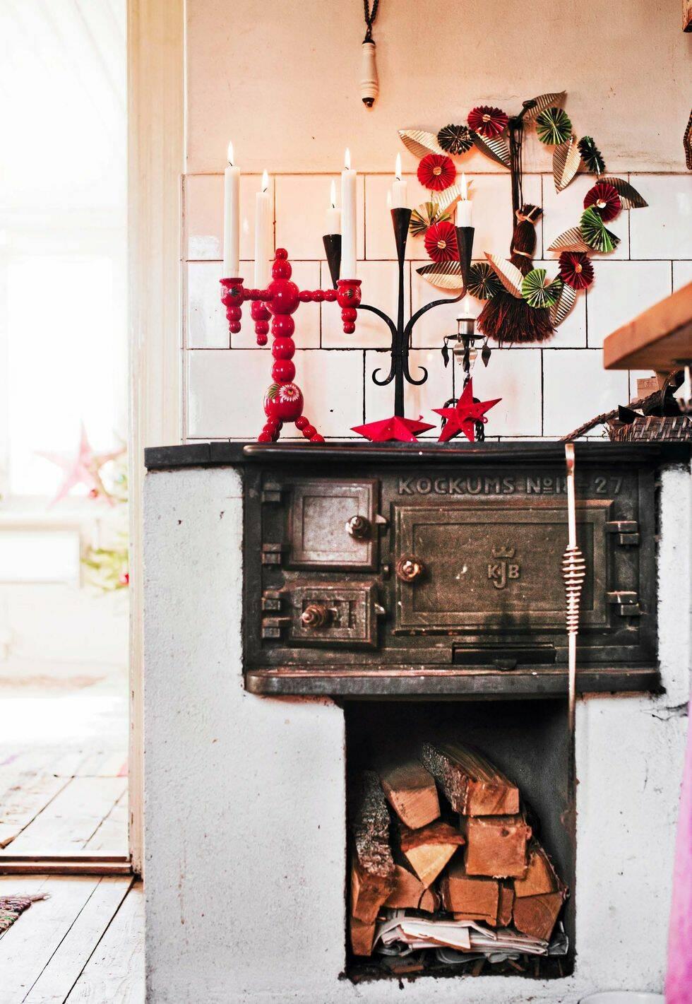 Inspireras av det här vackra gamla huset med fokus på återbruk