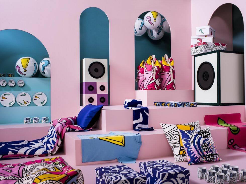Ikea presenterar ny kollektion – tillsammans med brittisk modeskapare