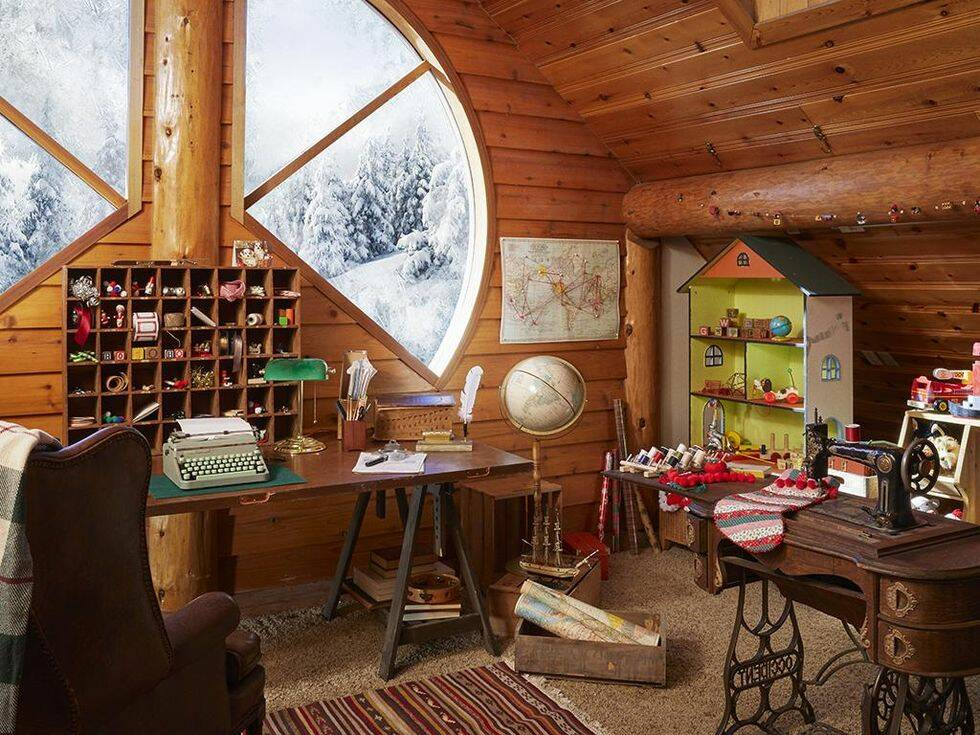 Årets bästa hemma hos-reportage – kika in i jultomtens hem