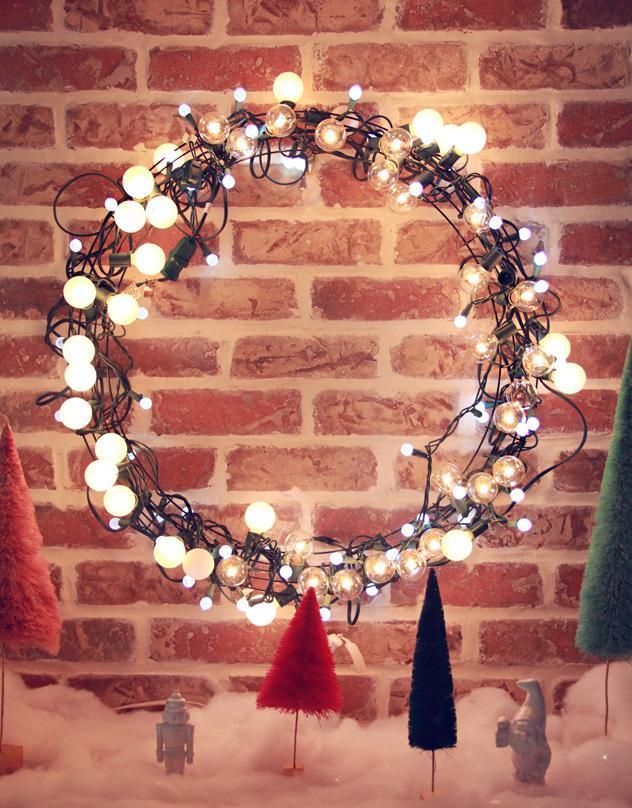 10 fina tips på hur du skapar julstämning med hjälp av ljusslingor