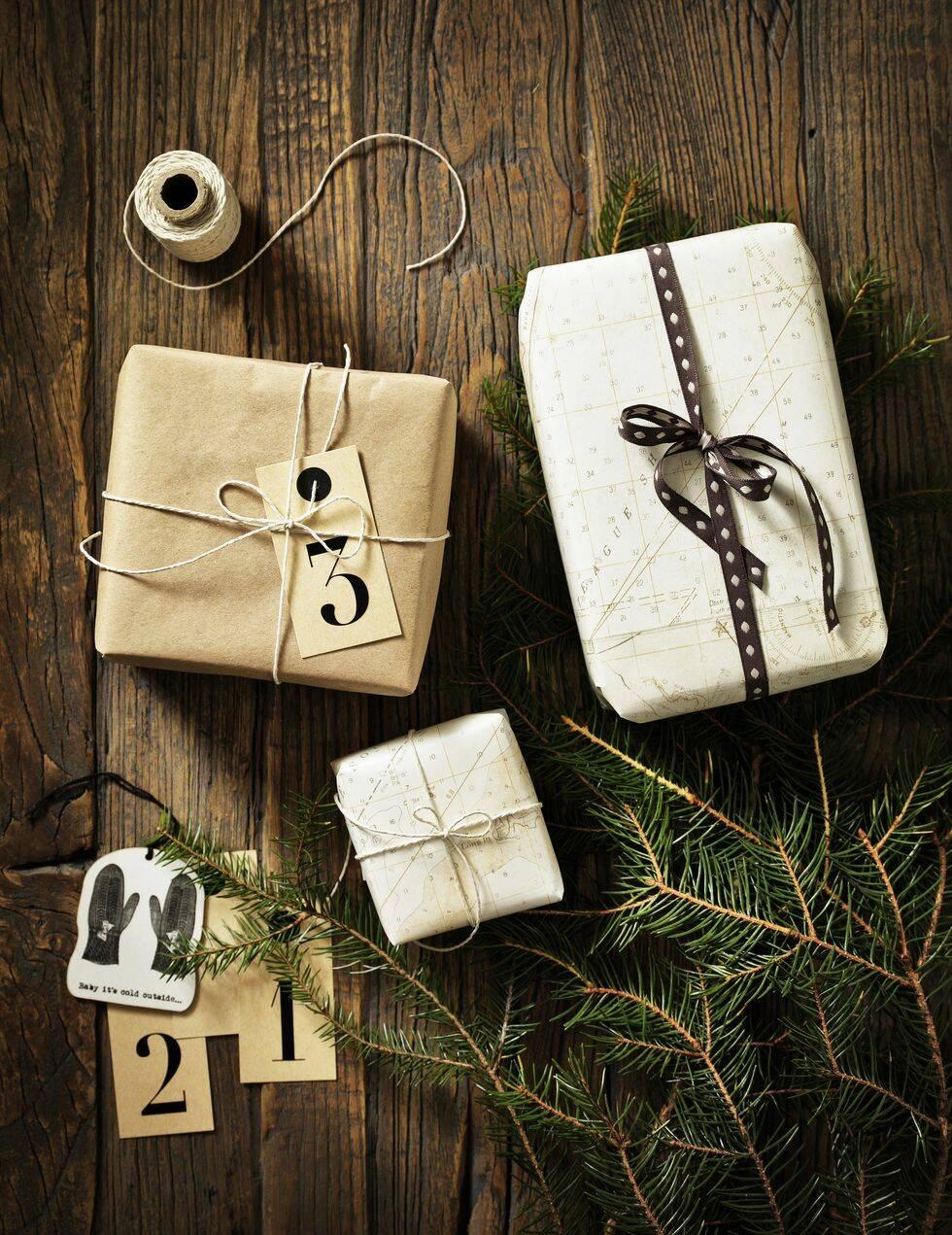 Så här slår du in julens finaste paket – 9 inspirerande tips