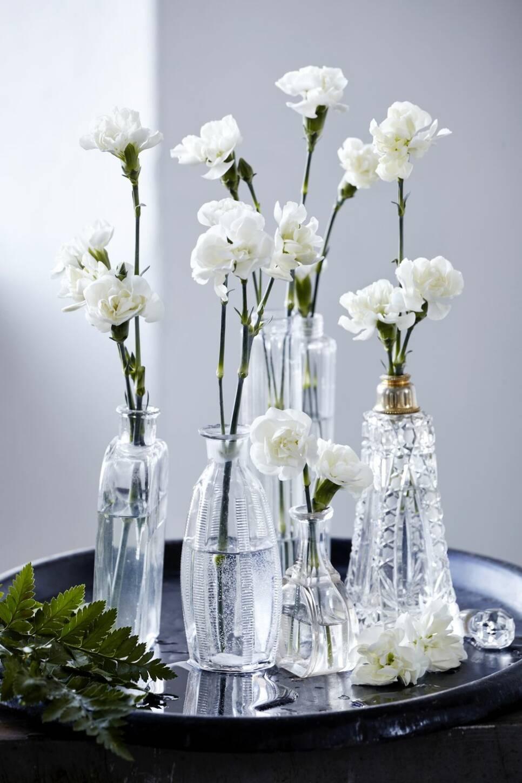 7 fantastiskt fina sätt att dekorera ditt hem med blommor