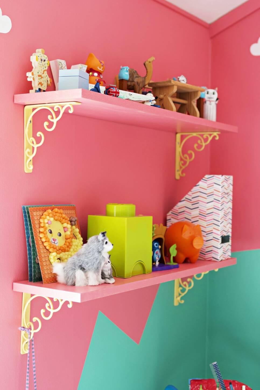 Så här fint kan det bli om du vågar färg i barnrummet