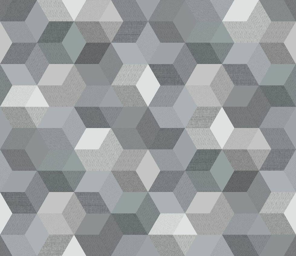 Nu ska det vara mjukt grafiskt mönstrade tapeter – här är 9 favoriter