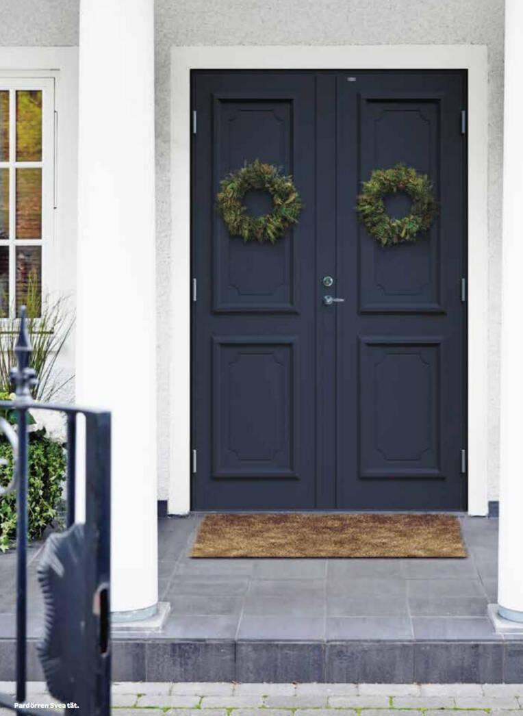 Förändra ditt hus med en personlig ytterdörr
